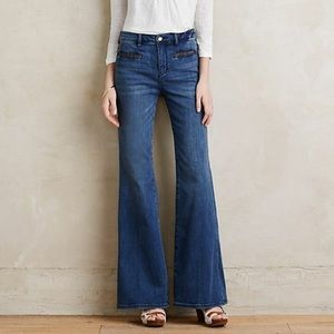 Pilcro Stet High Rise Flare Jeans